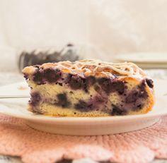 healthy blueberry lemon cake (eggs, sour cream, buttermilk)
