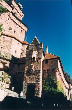Château-Fort du Haut-Koenigsbourg - région Alsace - Porte d'Honneur