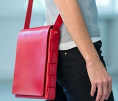 The Stitchless Bag   Fiesta Red