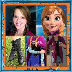 My Anna DisneyBound from Disney's Frozen