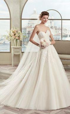 Featured Dress: Nicole Spose - Colet Collection; Wedding dress idea.