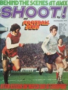 magazine for Dec 1973 featuring Arsenal v Derby Co on the cover. English Football League, Football Soccer, Football Players, Arsenal, Derby, 1970s, Magazines, Athlete, Community