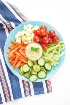 Kasvismyrsky ja avokado-jogurttidippi | K-Ruoka