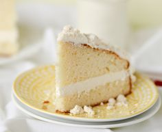 Olive Garden Lemon Cream Cake - Confessions of a Cookbook Queen
