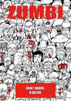"""""""Zumbi (1)"""", historieta de zombies atípica, con mucho #humor, acción, gore y artes marciales. Obra de El Gallego en ComicSquare. #digitalcomic #cómic #webcomic de #zombies #comicsquare http://www.comicsquare.com/es/comic/zumbi-1"""
