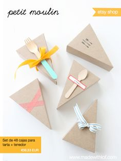 Made with lof: packaging
