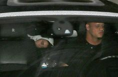 Justin Bieber Is Caught Sleeping In Car After Night Working In The Studio