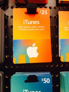 New iTunes® gift card look.
