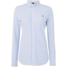 48ea0cad11a99f Polo Ralph Lauren Long Sleeve Heidi Knit Shirt ( 130) ❤ liked on Polyvore  featuring