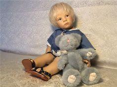 Очень серьезный Fiddy от Elisabeth Lindner .Студийная работа.Снижение цены. / Коллекционные куклы (винил) / Шопик. Продать купить куклу / Бэйбики. Куклы фото. Одежда для кукол