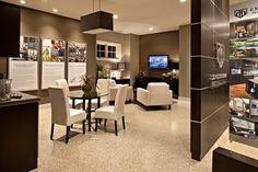 Sales centre design