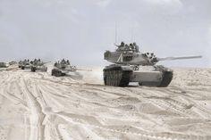Israeli Magach 3s in Suez Sinai conflict