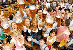 Festivals And Concerts Oktoberfest: Wurst, Beer & Bavarian Culture Munich, Germany Costume Oktoberfest, Oktoberfest Beer, Oktoberfest Halloween, Frankfurt, Bucket List For Girls, Bucket Lists, Beer Girl, Opening Weekend, Festivals Around The World