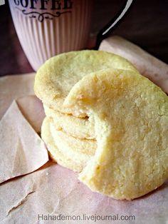 Миндально-лимонное печенье от Донны Хей