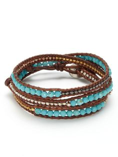 I've wanted a turquoise Chan Luu bracelet for months.