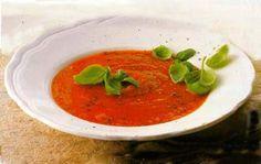 Tomatensoep, een (bijna) standaard gerecht in een eetcafé
