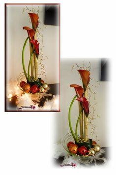 Image - Calendrier de l avent J - 4 - Art Floral - Bouquet- créations florales de... - Skyrock.com