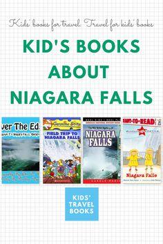 Kid's books about Niagara Falls