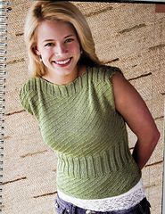 Ravelry: Sleek & Stylish Sleeveless Top pattern by Cecily Glowik MacDonald