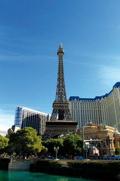 a Torre Eifel en las Vegas