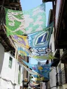 Proyecto Tejiendo la Calle. Valverde de la Vera (Cáceres).