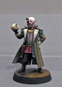 PAINTED 40K: Rogue Trader, Painted by Dante