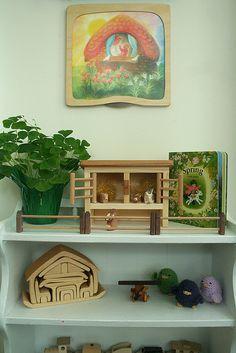 simple nature table corner