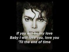 "Michael Jackson - ""Butterflies"" with Lyrics"