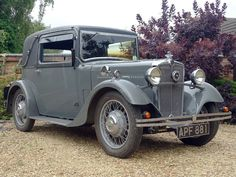 Morris 10/4 Special Coupe. Year 1933. Engine 1141 cc.