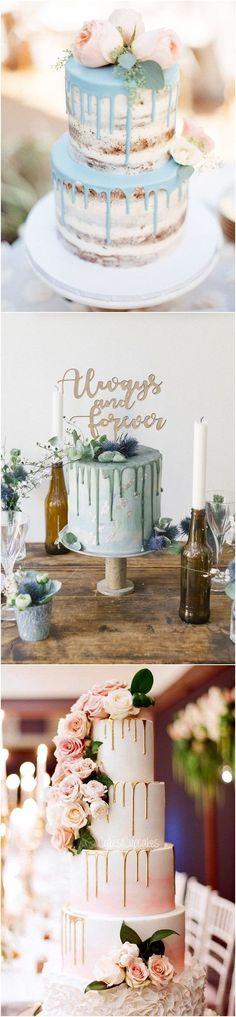 21 Amazing Drip Wedding Cake Ideas You Can't Resist! #wedding #weddingcakes #cakes