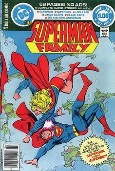 Superman Family: #195, June,1979, Supergirl is attacked by a possessed Superboy Robot + other stories