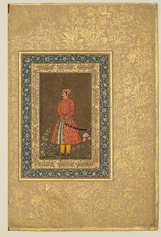 "India--- The Metropolitan Museum of Art - ""Portrait of Rup Singh"", Folio from the Shah Jahan Album"