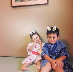 Pure blood. #nephew #niece #family #japanese #japan #love #cutest #cutiepie #charming