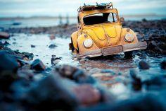 Miniaturas são estrelas de fotógrafa suíça - carros - Jornal do Carro