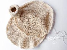 Háčkovaná síťovka: návod na háčkování - Kreativní Techniky Knitted Hats, Knitting, Diy, Tricot, Bricolage, Breien, Stricken, Do It Yourself, Weaving