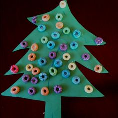 Toddler Christmas craft - so easy and fun.