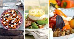 O Outono chega ainda disfarçado de verão. Não invalida que possamos alterar a ementa no que a saladas respeita. Estas, apesar de mornas, fazem uma boa transição entre a estação mais quente e a da queda da folha.