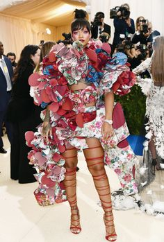 mcavoys: Rihanna@ Rei Kawakubo/Comme des Garcons: Art Of The...