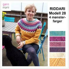 Icelandic Sweaters, Christmas Sweaters, Knitwear, Knitting Patterns, Colours, Embroidery, Crochet, Pink, Crafts