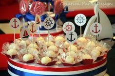 Fiesta Marinera www.creativapartydesign.com Shark Mermaid, Sailor Party, Baby Shawer, Nautical Party, Baby Boy Shower, Decor Crafts, Party Themes, Birthday Parties, Ideas