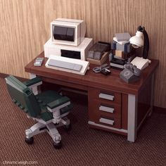 Retro LEGO Desktop Really Takes Me Back