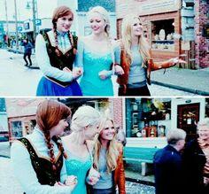 Emma Swan & Elsa & Anna