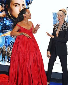 When you said you'd both dress casual but your friend shows up with a different plan  #Rihanna #CaraDelevingne #Valerian  via FASHION CANADA MAGAZINE OFFICIAL INSTAGRAM - Fashion Campaigns  Haute Couture  Advertising  Editorial Photography  Magazine Cover Designs  Supermodels  Runway Models