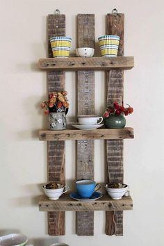 If anyone has a small kitchen in the home, then this idea is perfect to fulfill the storage as well as decoration need. This kitchen shelving idea is great to make the kitchen look outstanding even when it is not spacious. The glass and mugs can be placed on the shelf if there is no space to place them in an organized way.