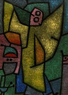 Paul Klee - Angelus Militans, 1940.