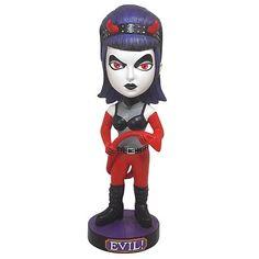 Goth Devil Bobble Head