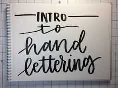 How to do modern brush calligraphy with a crayola marker tutorial