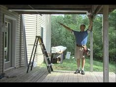 Inside Out underdeck Installation Part 1 Gazebo On Deck, Screened In Patio, Patio Roof, Deck Patio, Diy Deck, Diy Pergola, Under Deck Roofing, Under Deck Ceiling, Under Deck Drainage