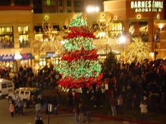 """Salt Lake City Holiday Light Displays : A list of the Salt Lake area's best Holiday Light Displays!: """"Light up the Night"""" at the Gateway"""