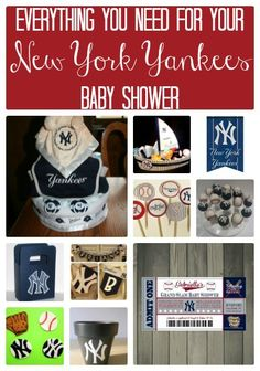 Everything You Need For Your New York Yankees Baby Shower